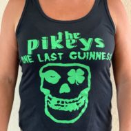 """One Last Guinness"" (Jolly Pikey) Women's Tank Top (L)"